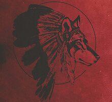 Wolf Warrior Spirit  by Daniel Watts