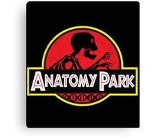 anatomy park Canvas Print