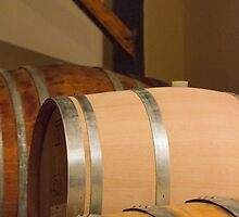 Old barrel for wine by spetenfia