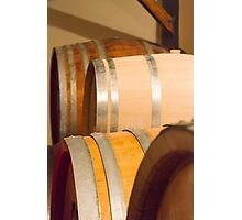 Old barrel for wine Photographic Print