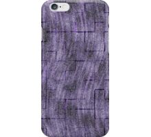 Curvy Cloudy Squares - Purple iPhone Case/Skin