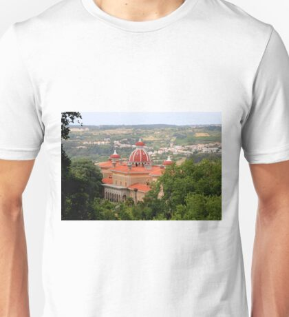 Monserrate Palace, near Sintra, Portugal Unisex T-Shirt
