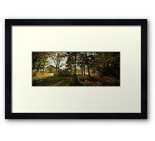 Preston Park, Stockton on Tees Framed Print