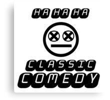 Bo Burnham - Classic Comedy Canvas Print
