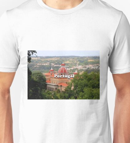 Portugal: Monserrate Palace, near Sintra Unisex T-Shirt