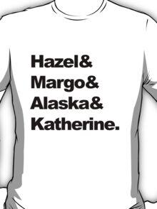 Girls of John Green  T-Shirt