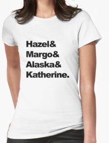 Girls of John Green  Womens Fitted T-Shirt