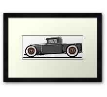 Antique Ford Hotrod Framed Print