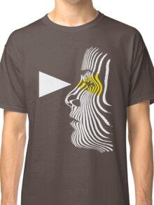Retro Zebra Eyes Classic T-Shirt