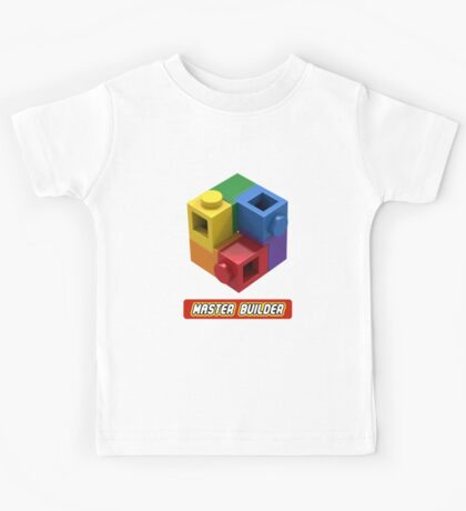 Master Builder Tee for Expert Builders Kids Tee
