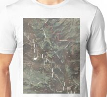USGS TOPO Map Colorado CO Green Ridge 20110105 TM Unisex T-Shirt