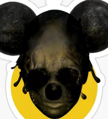 Weird Mickey Mouse Sticker
