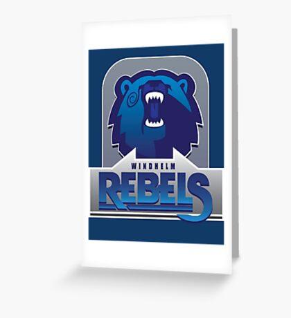 Windhelm Rebels Greeting Card