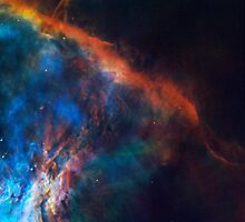 The Edge of Orion Nebula by Old-Time-Images
