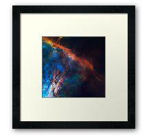 The Edge of Orion Nebula Framed Print