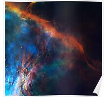 The Edge of Orion Nebula Poster