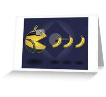 Pac·Minion Greeting Card