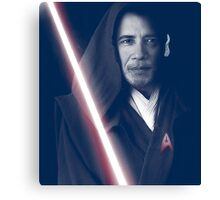 OBAMA Trekkie Jedi Canvas Print