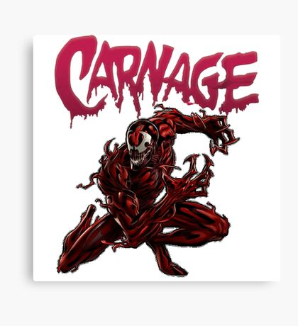 Carnage T-Shirt Canvas Print
