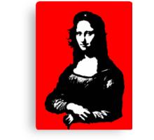 Mona Lisa- Che Guevara Style Canvas Print