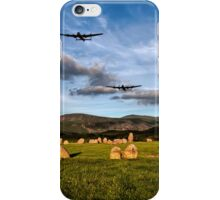 Lancaster Bombers with Fighter Escort iPhone Case/Skin