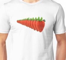 Disappearing Strawberry Unisex T-Shirt