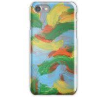 Brazil clouds iPhone Case/Skin
