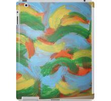 Brazil clouds iPad Case/Skin