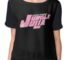 Jungle Julia Chiffon Top