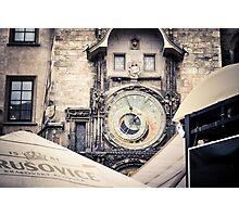 Prague clocks Photographic Print