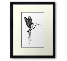 Flying Lace Framed Print