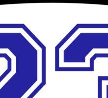 scott 23 one tree hill ravens jersey v2 Sticker