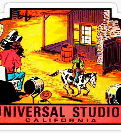 Universal Studios California Vintage Travel Decal Sticker