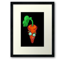 Blind Carrot Framed Print