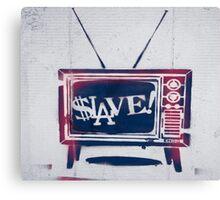 Slave! Canvas Print