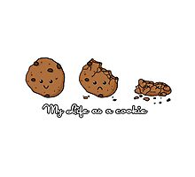 My life as a cookie Photographic Print