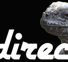 El Director - Comical Animals - Sticker Sticker