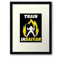 Train Insaiyan Framed Print