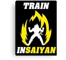 Train Insaiyan Canvas Print