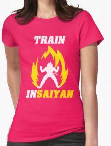 Train Insaiyan Womens Fitted T-Shirt