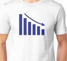 Diagram chart loss Unisex T-Shirt