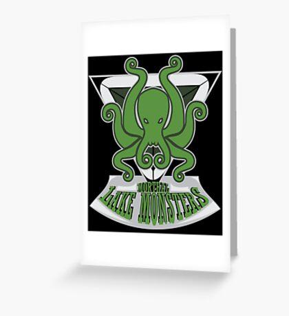 Morthal Lake Monsters Greeting Card