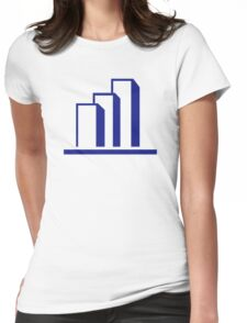 Diagram Chart Womens Fitted T-Shirt