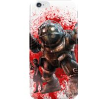 Bioshock Big Daddy And Little Sister iPhone Case/Skin