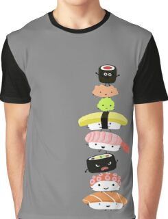 Sushi Stack Graphic T-Shirt