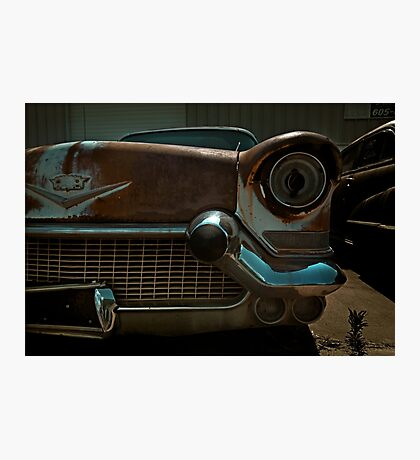 Abandoned 1957 Cadillac Detail Photographic Print