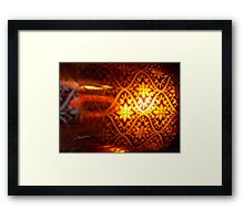 The Moroccan Collection Framed Print
