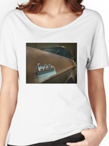 Abandoned 1957 Cadillac Detail Women's Relaxed Fit T-Shirt