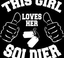 This girl lover her SOLDIER by inkedcreatively