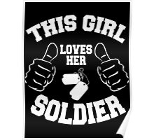 This girl lover her SOLDIER Poster